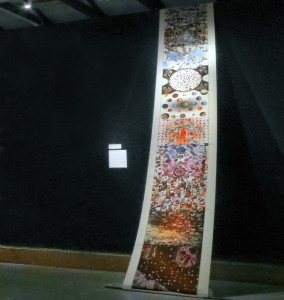 A simage installation for the Petaluma Arts Center by Erik Adigard, M-A-D